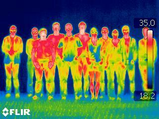 IR picture of the team