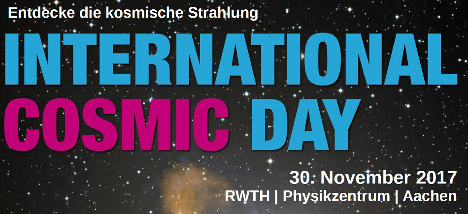 Logo of the International Cosmic Day 2015